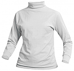 Unisex Knit Turtleneck - White