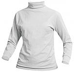 Unisex Knit Turtleneck - White