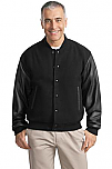 East Wind - Letterman Jacket – Wool and Leather