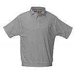 Nativity of Our Lord - Unisex Interlock Knit Polo Shirt with Banded Bottom - Short Sleeve (6th Grade Only)