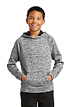 Holy Trinity - Youth PosiCharge Electric Heather Fleece Hooded Pullover