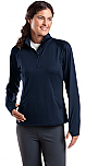 The French Academie - Sport-Wick - Womens Stretch 1/2-Zip Pullover