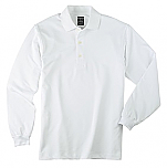 Spire Credit Union - Men's Textured Ottoman Polo Shirt - Long Sleeve