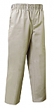Unisex Pull-On Pants - All Around Elastic - Khaki
