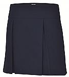 A+ #1106 - Hipster Skort - Box Pleats - Navy Blue