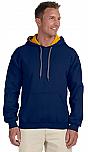 St. Pascal Baylon - Hooded Pullover Sweatshirt - Gildan Brand