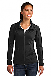St. Peter's Catholic Church - Sport-Wick - Womens Stretch Full Zip Jacket