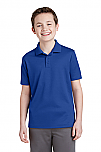 Holy Trinity - Youth PosiCharge Racer Mesh Polo