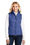 Holy Trinity - Ladies Puffy Full Zip Vest