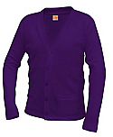 The Journey School - Unisex V-Neck Cardigan Sweater with Pockets