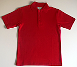St. Mark's - Unisex Interlock Knit Polo Shirt - Short Sleeve