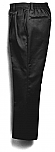 Boys Twill Pants - Pleated Front, Elastic Back - #1268 - Black
