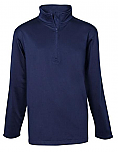 St. John the Baptist - Excelsior - Unisex 1/2-Zip Pullover Performance Jacket - Elderado
