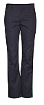 Girls Mid-Rise Super Soft Twill Pants - Straight Leg - Flat Front - #4124/4024 - Navy Blue