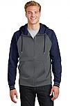 Epiphany - Men's Sport-Wick Varsity Fleece Full-Zip Hooded Jacket