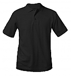 Life Prep - Unisex Interlock Knit Polo Shirt - Short Sleeve