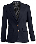 Girls Blazer - Navy Blue