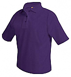 The Journey School - Unisex Mesh Knit Polo Shirt - Short Sleeve