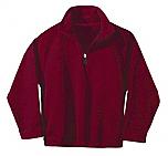 The Way of the Shepherd - Unisex 1/2 Zip Microfleece Pullover Jacket - Elderado