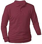 Nova Classical Academy - Unisex Interlock Knit Polo Shirt - Long Sleeve