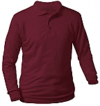 St. Francis Xavier - Unisex Interlock Knit Polo Shirt - Long Sleeve