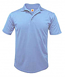 First Baptist School of Rosemount - Unisex Performance Knit Polo Shirt - Moisture Wicking - 100% Polyester - Short Sleeve