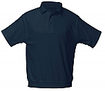 St. John the Baptist Catholic School - Savage - Unisex Interlock Knit Polo Shirt with Banded Bottom - Short Sleeve