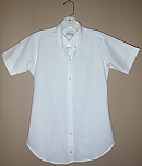 Chapel Hill Academy - Women's Fitted Oxford Dress Shirt - Short Sleeve