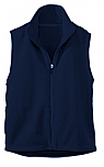 Assumption Catholic School - Unisex Full Zip Microfleece Vest - Elderado