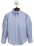Yinghua Academy - Boys Oxford Dress Shirt - Long Sleeve