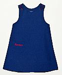 Visitation School Jumper - Royal Blue with Red Logo