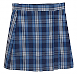 #UD76 Skort with 2 Pleats - Front & Back - Plaid #76
