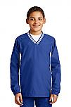 Holy Trinity - Youth V-Neck Raglan Wind Shirt