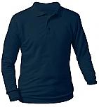 St. John the Baptist - Excelsior - Unisex Interlock Knit Polo Shirt - Long Sleeve