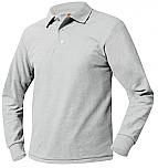 Prodeo Academy - Unisex Mesh Knit Polo Shirt - Long Sleeve