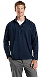 Saint Agnes Staff - Sport-Wick - Mens Stretch 1/2-Zip Pullover