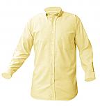 Boys Oxford Dress Shirt - Long Sleeve - Yellow