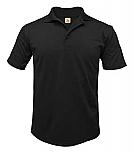 Frassati Catholic Academy - Unisex Performance Knit Polo Shirt - Moisture Wicking - 100% Polyester - Short Sleeve