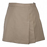 #UD350/300 Skort with 2 Pleats - Front & Back - Plaid #77
