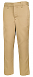 Boys Performance Microfiber Flat Front Pants - A+ 7014/7899