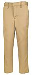 Boys Performance Microfiber Flat Front Pants - A+ 7014/7899 - Khaki