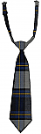 Pre-Tied Neck Tie - Plaid #57