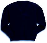 Academy of Holy Angels - Unisex V-Neck Pullover Microfleece Jacket - Elderado
