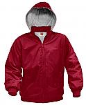 Nylon Full-Zip Hooded Jacket - A+ #6225