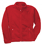 Sacred Heart Catholic School - Women's Full Zip Microfleece Jacket - Elderado - Staff