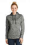 Holy Trinity - Ladies PosiCharge Electric Heather Fleece Hooded Pullover