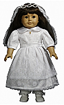 18 Inch Doll Special Occasion Dress & Accessories