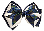 Hair Bow - Extra Large - Plaid #27