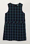 #94 Drop Waist Jumper - Box Pleats - Poly/Cotton