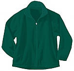St. Luke the Evangelist - Unisex Full Zip Microfleece Jacket - Elderado